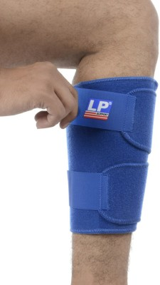 LP Support 778 Shin Support (Free Size, Blue)