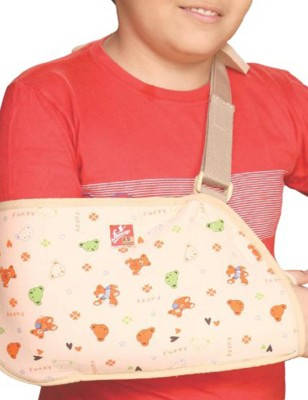 Flamingo Pediatric Arm Sling Elbow Support (M, Multicolor)