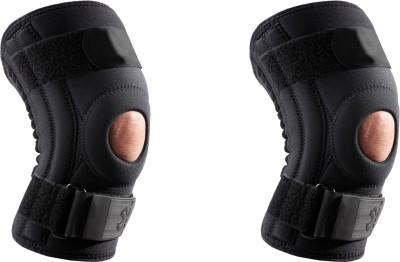 Zcare Pharma Hinged Brace Neoprene Knee Support (XL, Black)