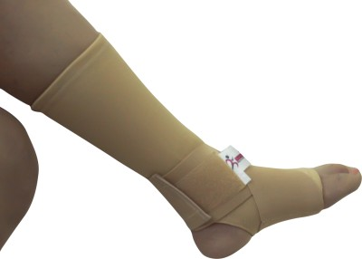 Healcure Joint Wrap Ankle Support (S, Beige)
