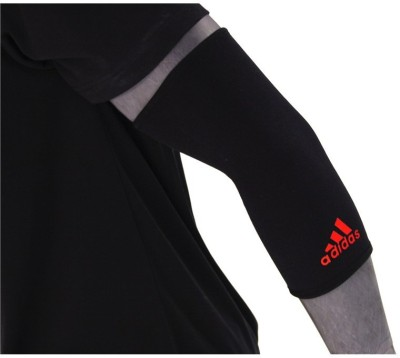 Adidas Elbow Support (S, Black, Red)