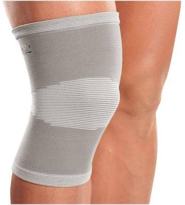 Mediexchange Bamboo Knee Cap for Summer Medium Knee, Calf & Thigh Support (M, Grey)