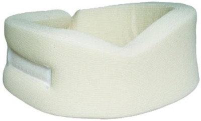 Jern Cervical Collar Neck Support (Free Size, White)