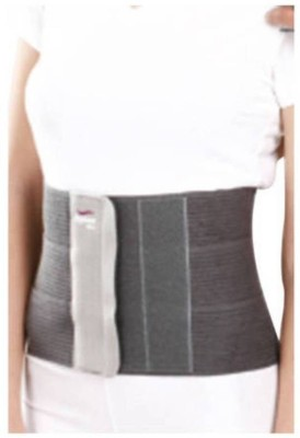 Tynor Tummy Trimmer Abdominal Belt Waist Support (S, Grey)