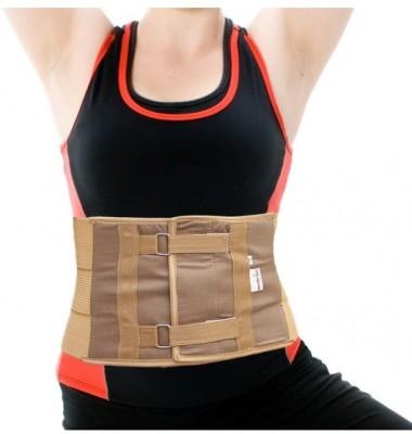 Wonder Care Abdominal Belt-Small Abdomen Support (S, Beige)