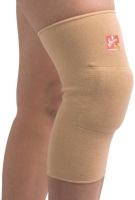 Flamingo Gel Knee Cushion - Single Knee, Calf & Thigh Support (XXL, Beige)
