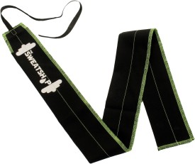 The SweatShop Strength Wraps (with Carry case) Wrist Support (Free Size, Green, Red, Black)