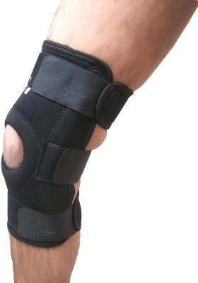 Wonder Care Wonder Care-Neoprene Brace With Hinge Open Patella - Small Knee Support (S, Black)
