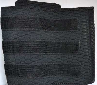 MES LWSMES Waist Support (Free Size, Black)