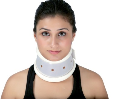 Modern Medical Aids Cervial Collar Hard Neck Support (S, Beige)