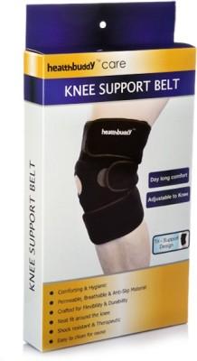 Healthbuddy Belt Knee Support (L, Black)