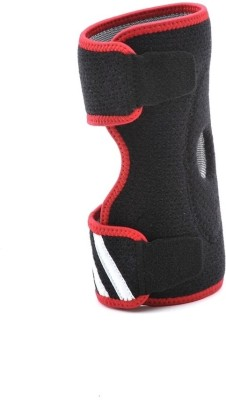 Adidas Elbow Support (Free Size, Black, Red)