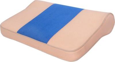 BONE RAP CERVICAL PILLOW Neck Support (Free Size, Beige, Blue)