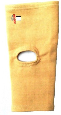 Ache Cure Open Patella Knee, Calf & Thigh Support (Free Size, Beige)
