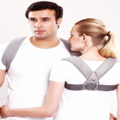 Tynor Clavicle Brace With Buckle Shoulder Support (L, Grey)