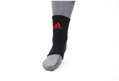 Adidas Ankle Support (S, Black, Red)