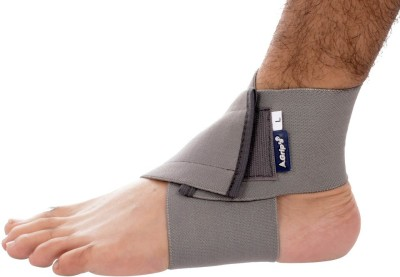 Grip India Ankle & Foot Binder Ankle Support (L, Multicolor)