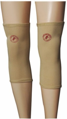 R-Lon Best Ever Knee Support (Free Size, Beige)