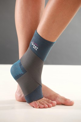 Tynor Ankle Binder Ankle Support (XL, Grey)