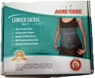 Ache Cure Lumbo Secral Support Belt Back & Abdomen Support (M, Beige, Grey)