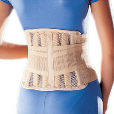 Oppo 2168 Sacro Lumbar Support Back Support (L, Beige)