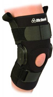McDavid PS II Hinded Stabilzer 429R (M) Knee Support (M, Black)