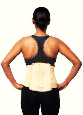 Apex Ortho Apex Contoured L.S. Support Belt(Back) Back Support (M, Beige)