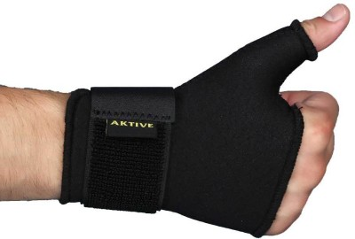 Aktive Support 532 Wrist Support (Free Size, Black)