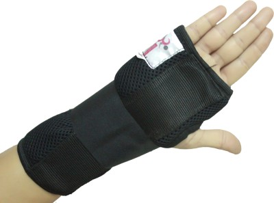Healcure Wrist support Wrist Support (Free Size, Black)