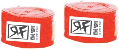 Ring Fight Hand Wrap Wrist Support (XL, Red)