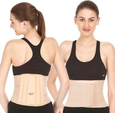 Samson Lumbo Sacral Belt (Towel) Back & Abdomen Support (L, Beige)