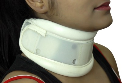 Healcure Cervical Neck Support (S, White)