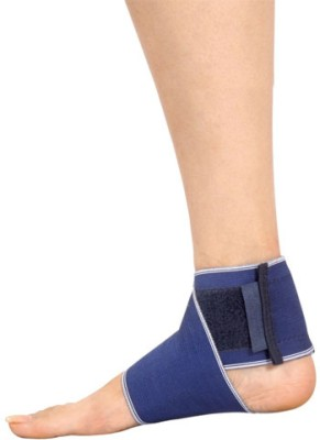 Mgrm 0801- Ankle Wrap Ankle Support (M, Beige, Blue)
