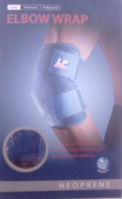 LP 759 Wrap Elbow Support (Free Size, Blue)