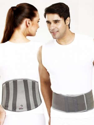 Tynor Orthopedic Lumbo Universal Lumbo Sacral Belt For Back Pain Back Support (Free Size, Grey)