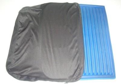 KGCPL Plain Gel Seat Cushion Back Support (Free Size, Blue)