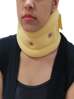 Acco Cervical Collar Soft Neck Support (M, Beige)