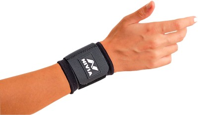 Nivia Performaxx Wrist Support (Free Size, Black)