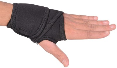 RAP THUMB SUPPORT BINDER PACK OF -2 Wrist Support (Free Size, Black)