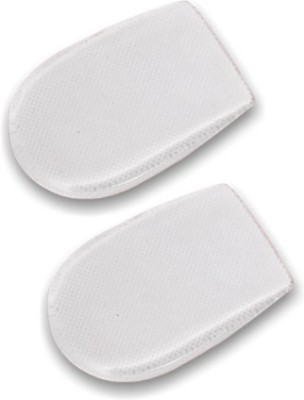 Flamingo Gel Pad (Male) Heel Support (Free Size, White)