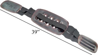 JM Gym Slim Belt Abdomen Support (Free Size, Black)