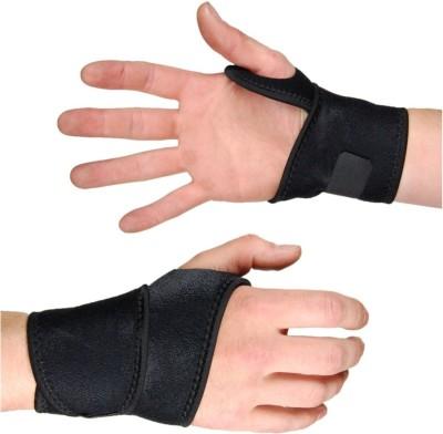 HE Retail Pharma Thumb Wrist Support (Free Size, Black)