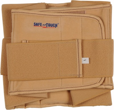 SafeAnBTouch Lumbo Sacrel Back Support (L, Beige)