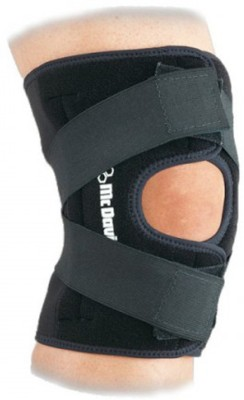 McDavid Multi Action Wrap 4195R (L) Knee Support (L, Black)