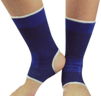 Blossoms Ankle Support 1 Pair (Small) Ankle Support (S, Blue)