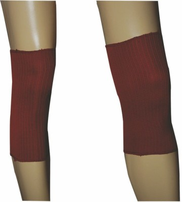 R-Lon Best Ever Knee Support (Free Size, Red)