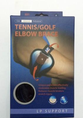 LP TENNIS/GOLF ELBOW BRACE Elbow Support (L, Black)