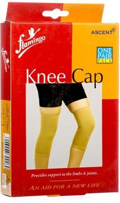FLAMINGO Xtra Xtra Xtra Large Knee Support (XXXL, Beige)