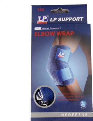 LP Elbow Wrap Elbow Support (Free Size, Blue)