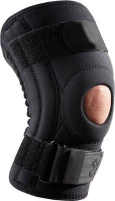 Zcare Pharma Brace With Steel Hing Knee, Calf & Thigh Support (L, Black)